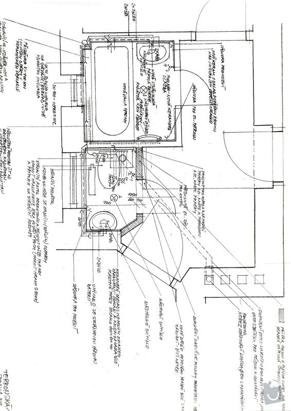 Rekonstrukce koupelny a oddeleni zachodu: K2