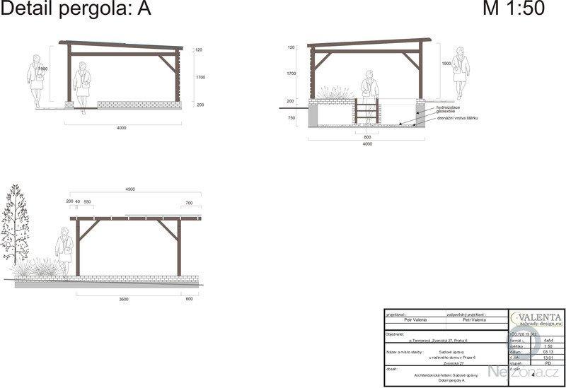 Rekonstrukce zahrady bez sadových úprav: Detail_pergola_2