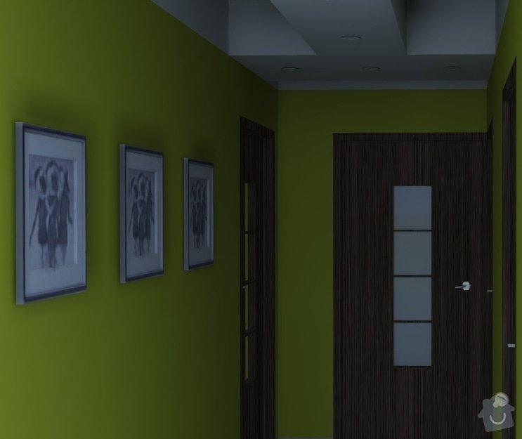 Návrh přestavby 1+1 na 2+KK: Lesna3