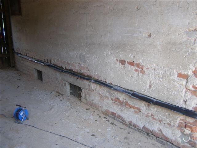 Podřezání zdiva,odstranění vlhkosti: P6240900