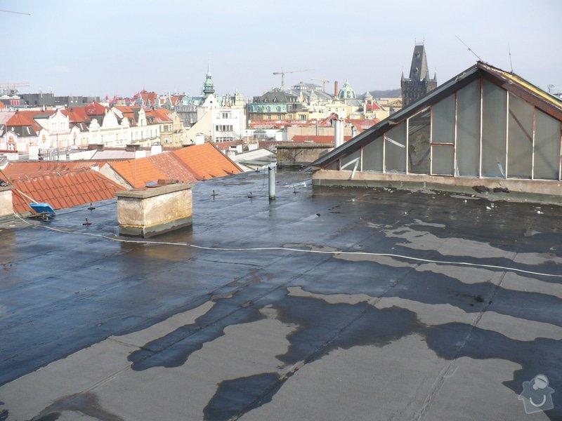 Oprava  ploché  střechy - IPA  izolaci cca 60 m2: P1060113
