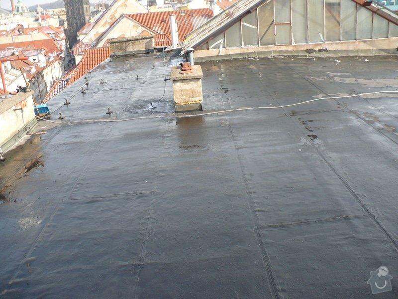 Oprava  ploché  střechy - IPA  izolaci cca 60 m2: P1060114