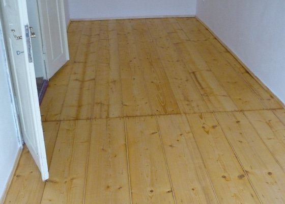 Repase dřevěné podlahy