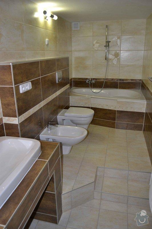 Rekonstrukce koupelny,obklad za kuchyňskou linkou, dlažba v kuchyní, chodbě, obýváku a schodu, drobné zednické práce: 0_1_