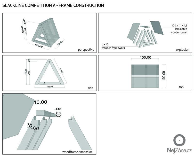 Výroba  2 dřevěných konstrukcí: konstrukce