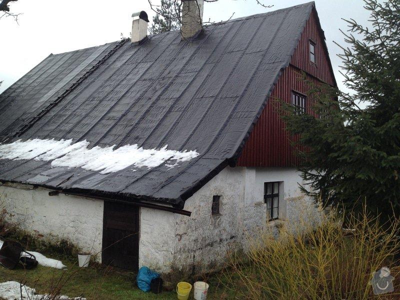 Rekonstrukce střechy rekreační chalupy v Tanvaldu: IPhone_683