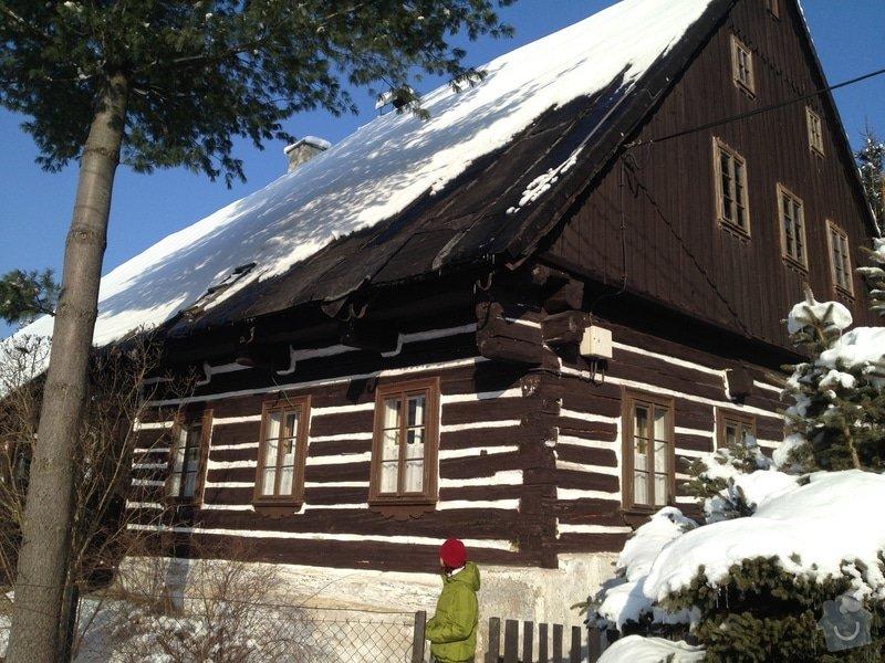 Rekonstrukce střechy rekreační chalupy v Tanvaldu: IPhone_565