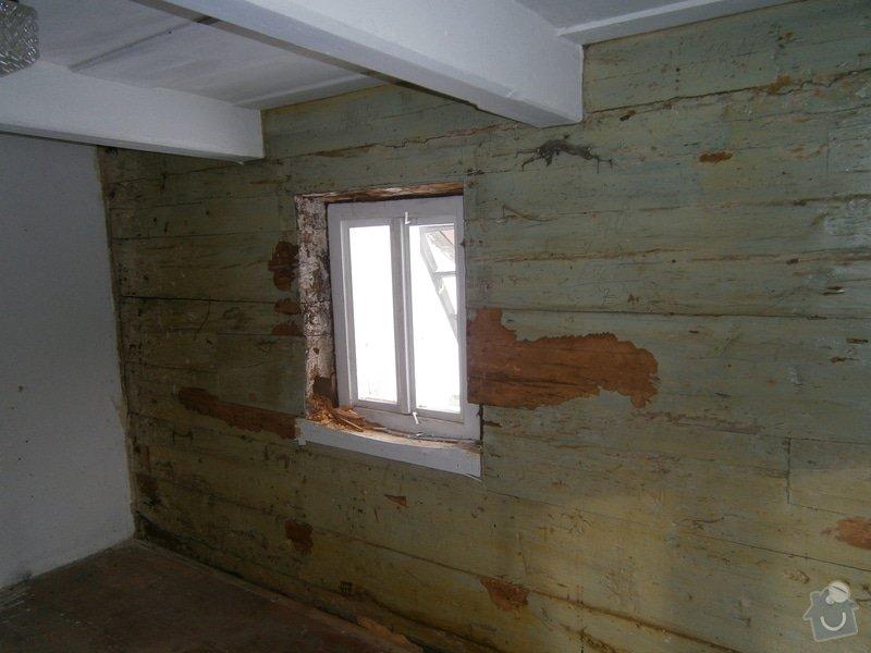 Vyzdění části podstávkového domu: P3250127