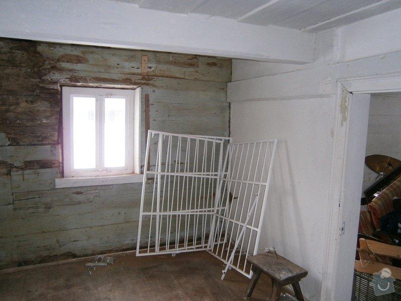 Vyzdění části podstávkového domu: P3250129