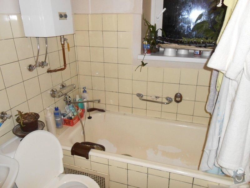 Projekt výměna koupelny a kuchyně: iprima_prestavba_001