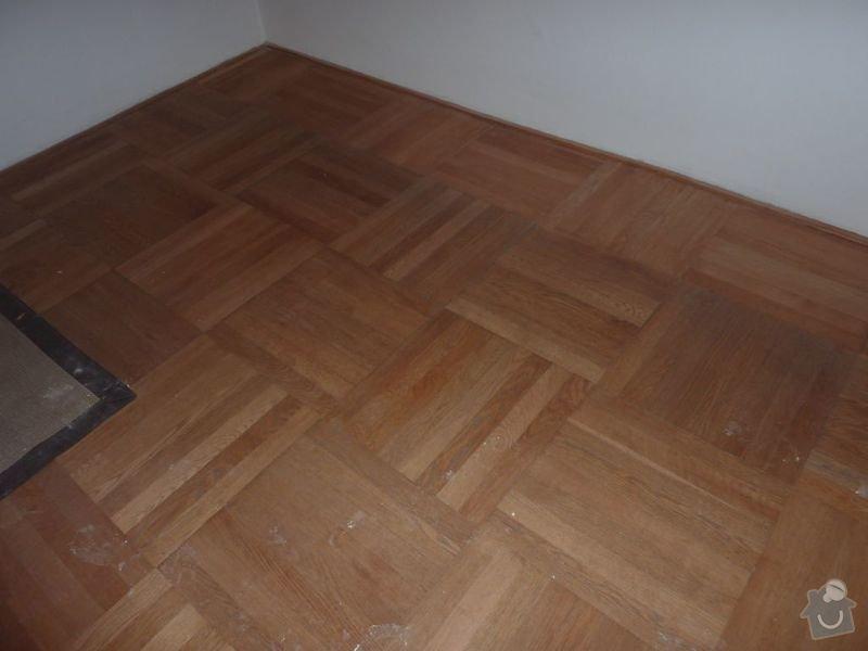 Repase parket a nové parkety (celk.plocha 124 m2): P1020661