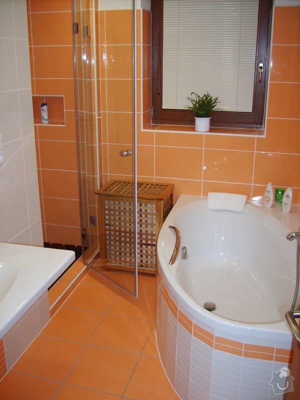 Rekonstrukce koupelny a Wc, obložení soklu domu: Panik