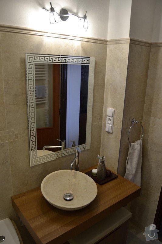 Rekonstrukce koupelny v rodinném domku: 2