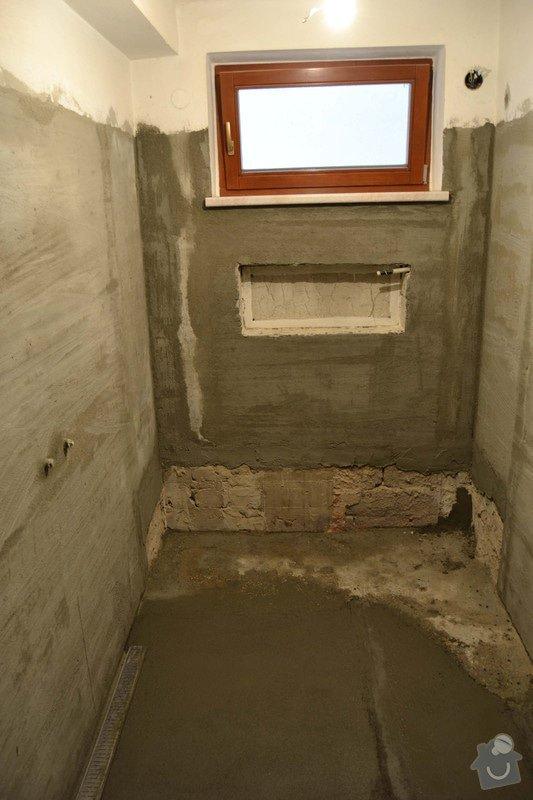 Rekonstrukce koupelny v rodinném domku: 3