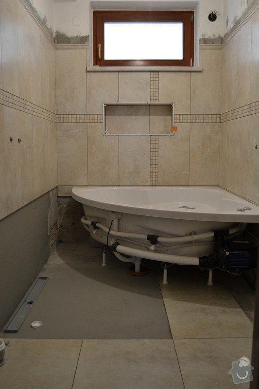 Rekonstrukce koupelny v rodinném domku: 4