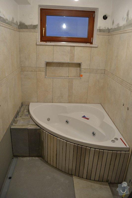 Rekonstrukce koupelny v rodinném domku: 5