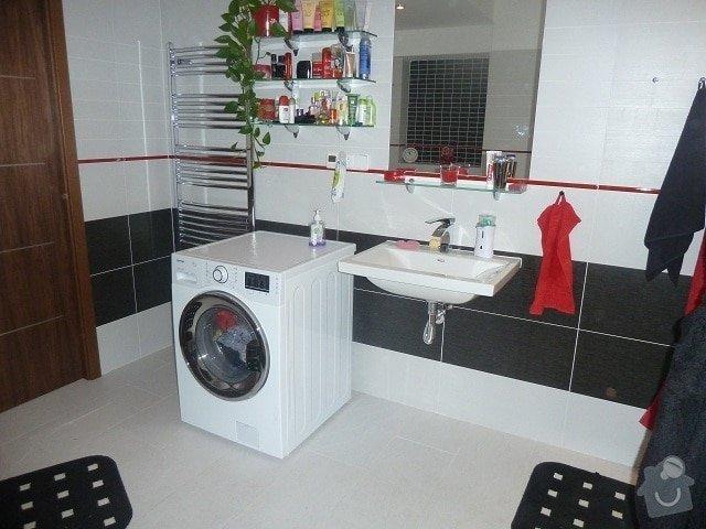 Kompletní rekonstrukce bytu: koupelna...