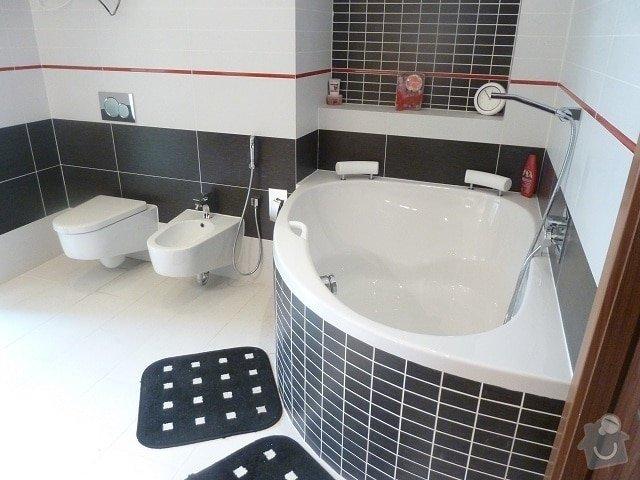 Kompletní rekonstrukce bytu: koupelna