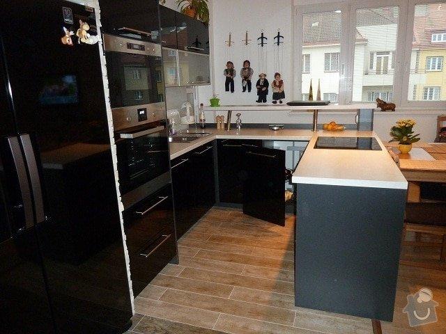 Kompletní rekonstrukce bytu: kuchyn.