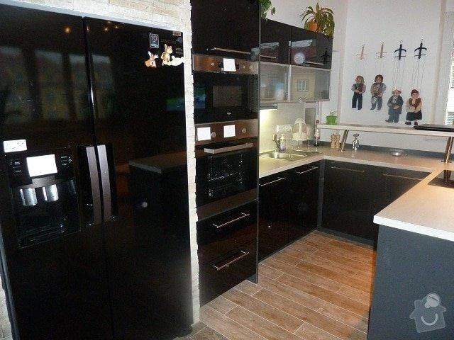 Kompletní rekonstrukce bytu: kuchyn