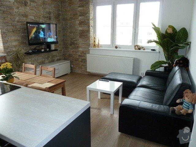 Kompletní rekonstrukce bytu: pokoj