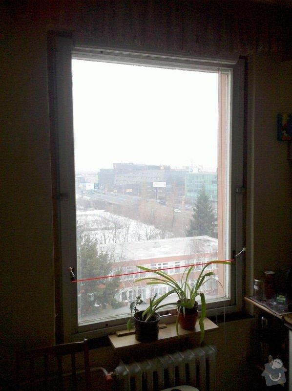 Plastová okna: 1Kuchyn120x160