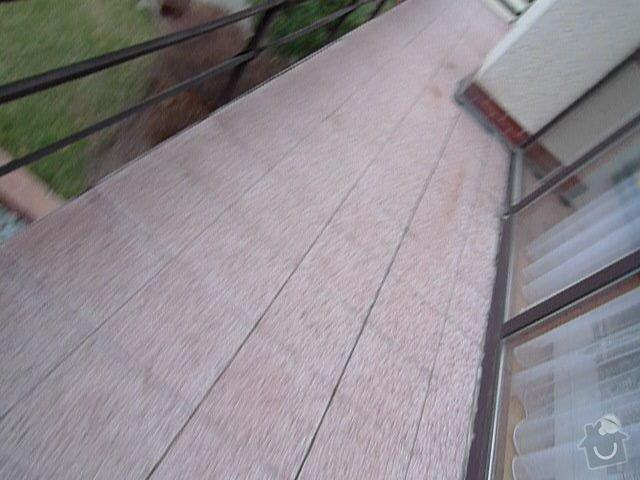 Opravu zatekani z balkonu u RD: P1010931