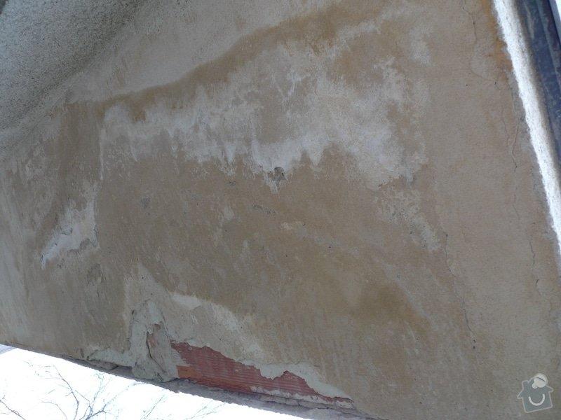 Opravu zatekani z balkonu u RD: P1010934