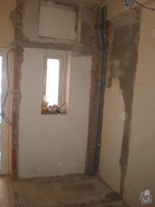 Rekonstrukce špajzu a bývalého záchodu na ložnici: P2161296