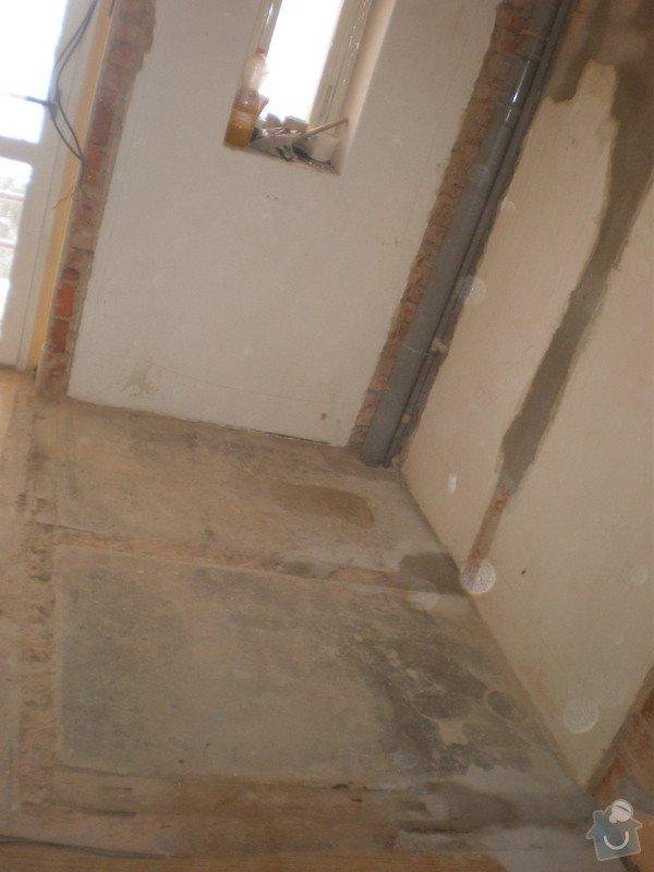 Rekonstrukce špajzu a bývalého záchodu na ložnici: P2161298