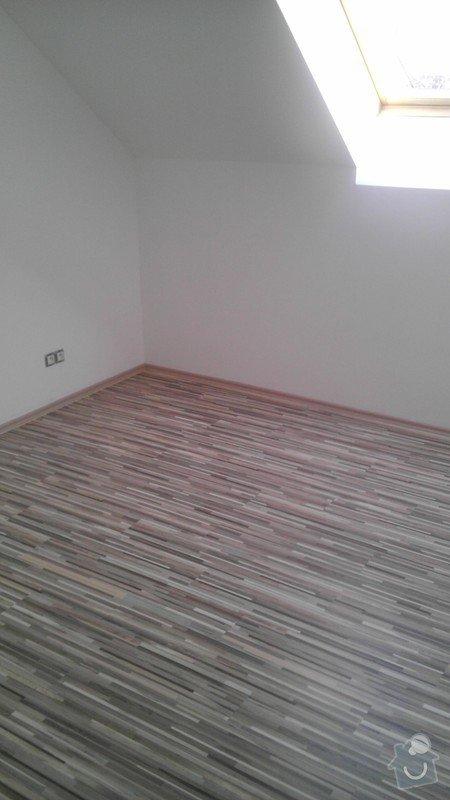 Pokládka vinylové podlahy v RD: IMAG1238