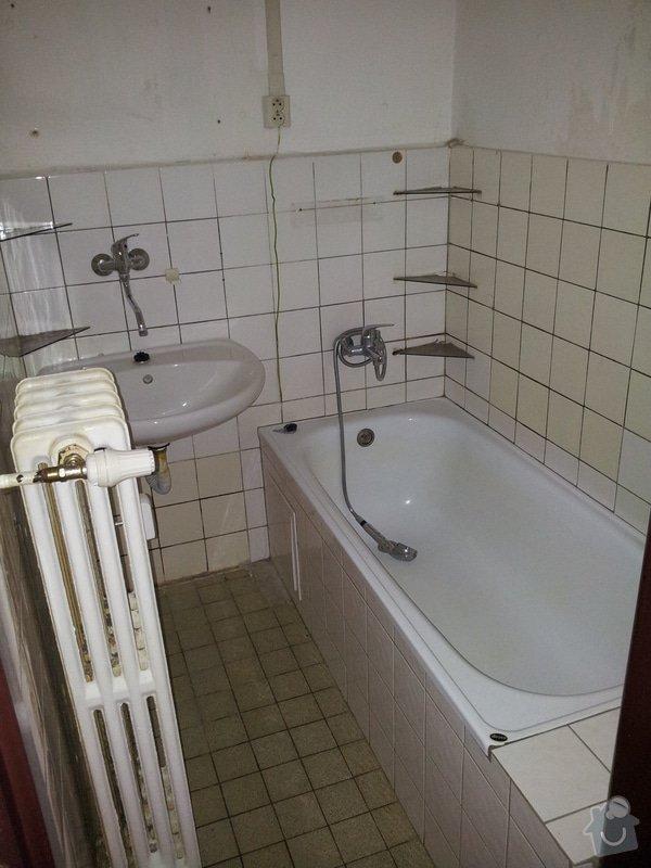 Rekonstrukce bytu - elektro + koupelna : 20130316_110346