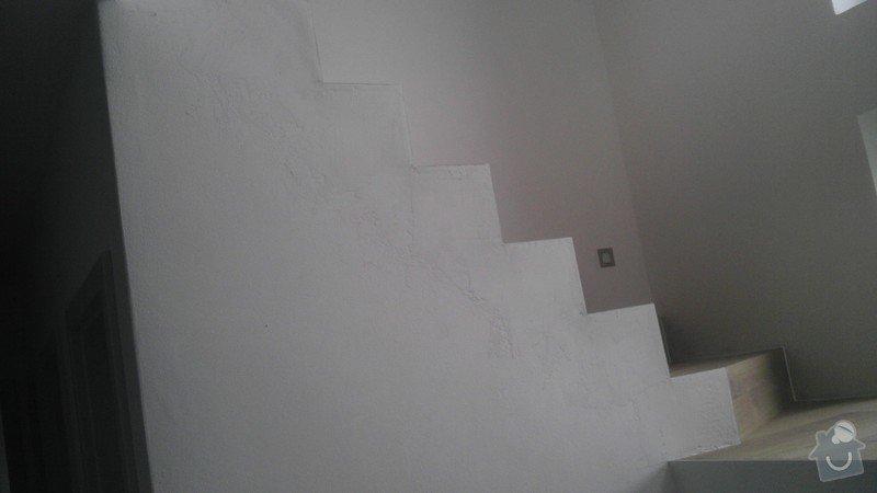 Obklad betonových schodů třívrstvou dřevěnou podlahou,zednické začištění: IMAG0126