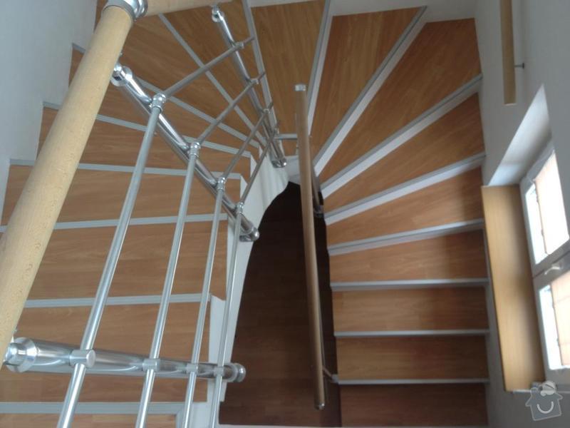 Obklad schodů z monolitu vinylem,hliníkové hrany: 482508_544320102265144_837928208_n