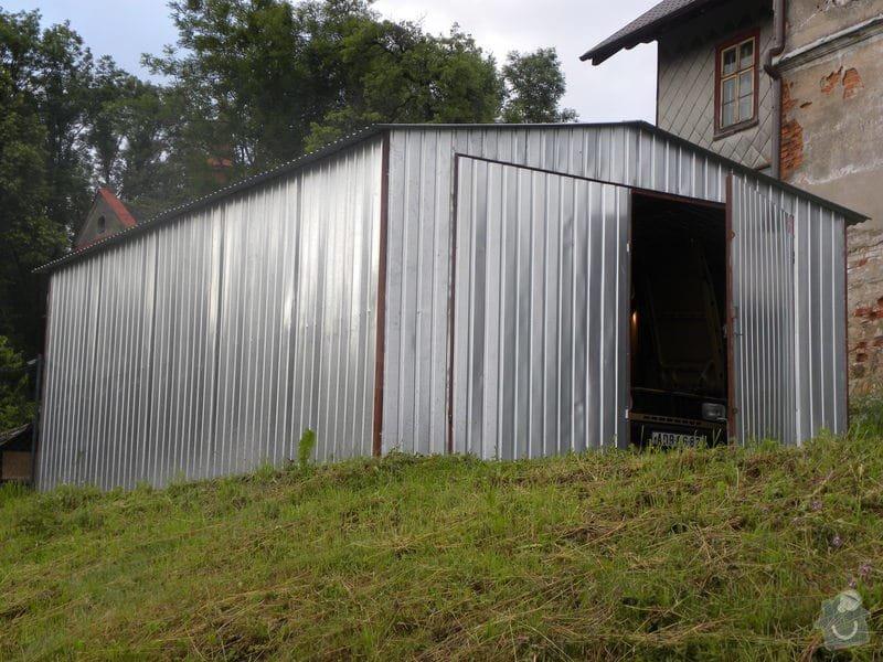 Plechová garáž: DSCN4153