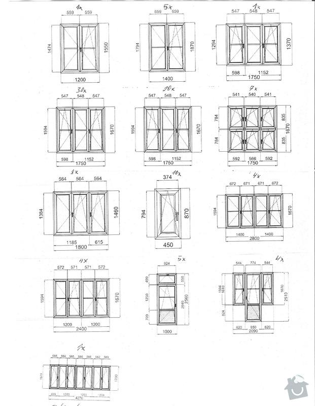 Oprava špaletových oken cca 14let starých: OKNA