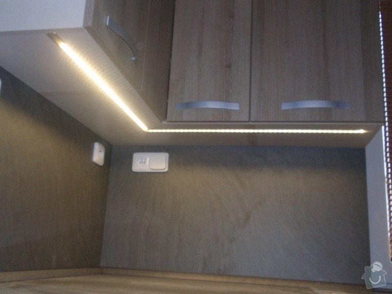 Výroba kuchyňské linky, dodání interiérových dveří: 032