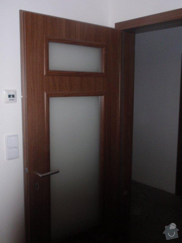 Výroba kuchyňské linky, dodání interiérových dveří: 044