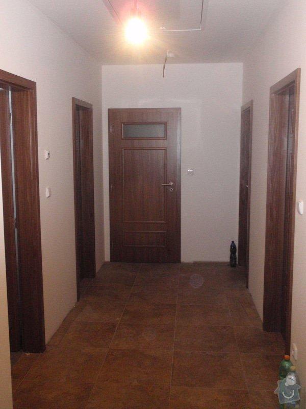 Výroba kuchyňské linky, dodání interiérových dveří: 050