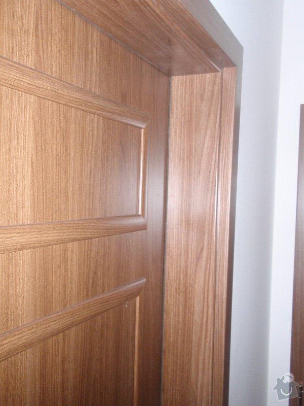 Výroba kuchyňské linky, dodání interiérových dveří: 052