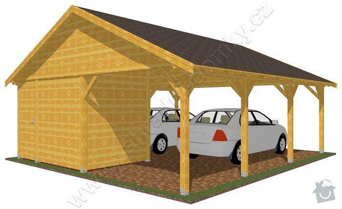 Garážové stání pro 2 auta: garazove_stani_sedlova_strecha