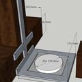 Ocelovy nosnik pro digestor digestor nakres 2