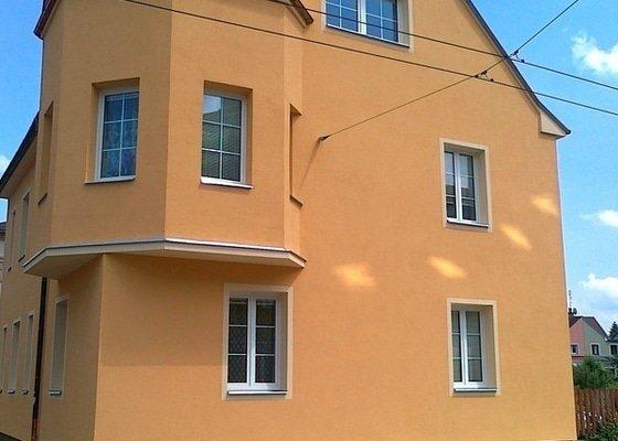 Kompletní zateplení fasády