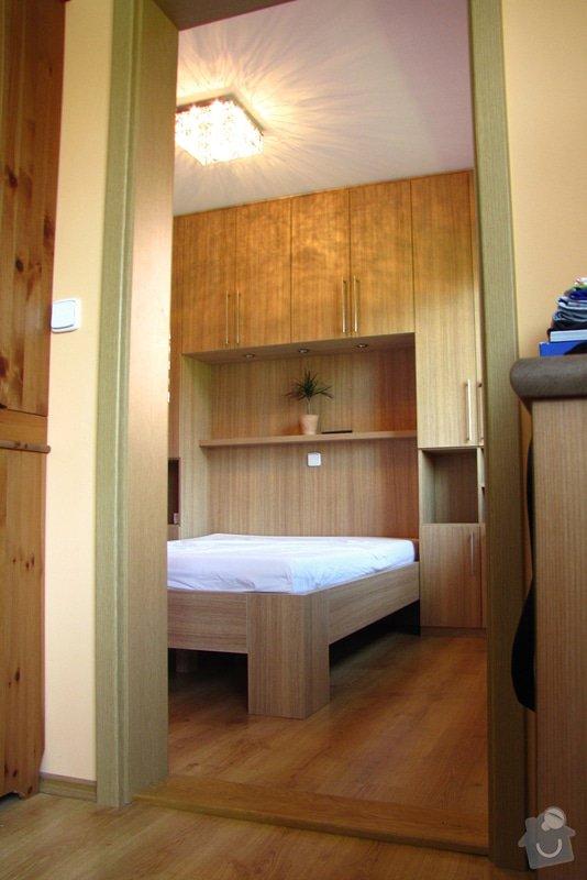 Výroba a montáž skříně a manželské postele do ložnice: 01