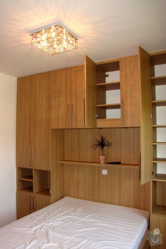 Výroba a montáž skříně a manželské postele do ložnice: 02