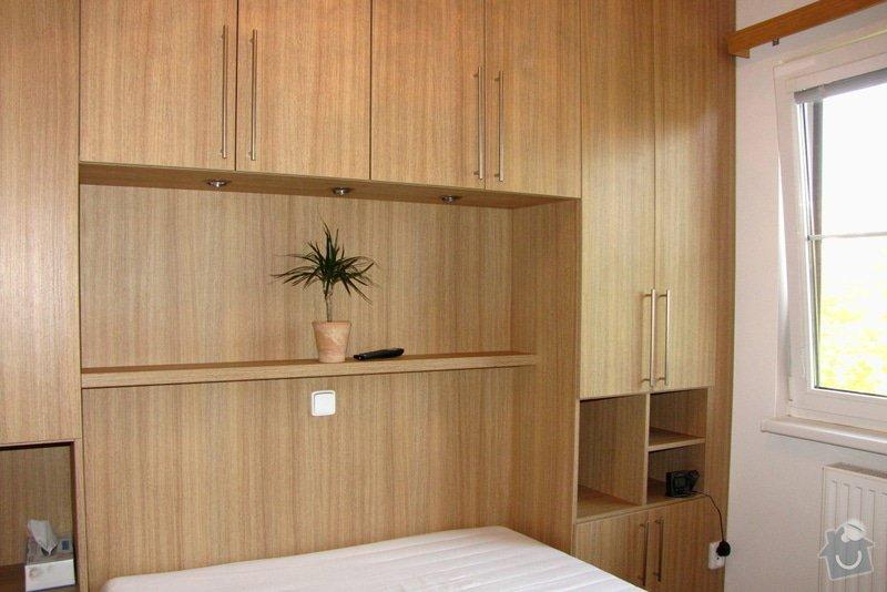 Výroba a montáž skříně a manželské postele do ložnice: 04
