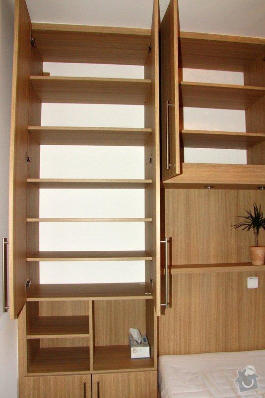 Výroba a montáž skříně a manželské postele do ložnice: 05