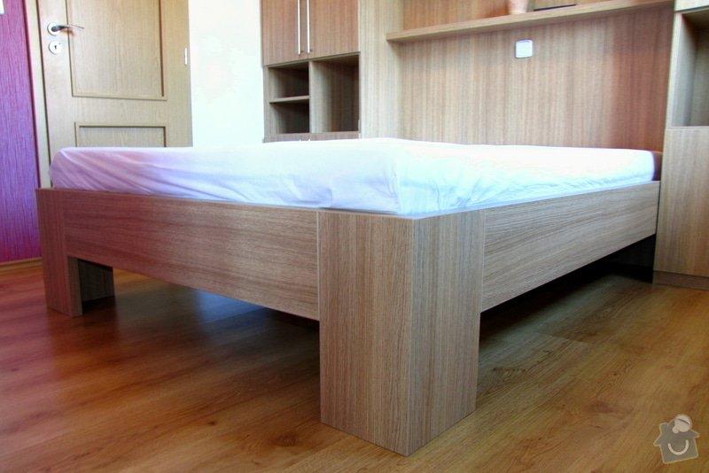 Výroba a montáž skříně a manželské postele do ložnice: 09