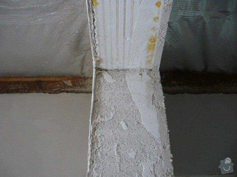 Strojní sádrová omítka gletovaná: P1030224