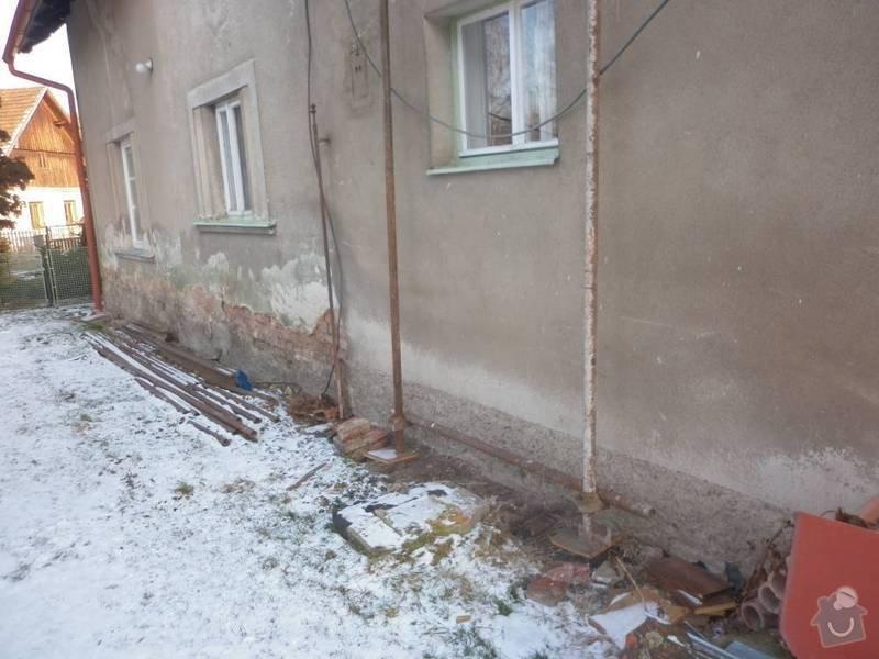 Podřezání rodinného domu: P1010765